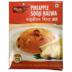 Pineapple Sooji Halwa