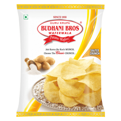 Budhani Potato Wafers (Salted) 54 gm